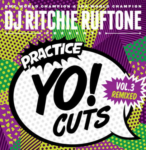 Turntable Training Wax: TTW001 Practice Yo! Cuts - Limited Edition Neon Yellow
