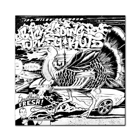 "BACKSLIDING TURKEY KUTZ 7"" VINYL"