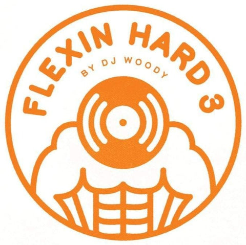 "DJ Woody - FLEXIN HARD 2 12"" White Vinyl"