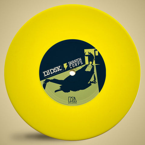 "DJ DSK - Style Protector 7"" Yellow Vinyl"