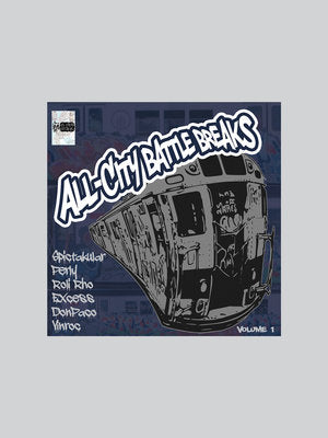 Open Faders - All-City Battle Breaks Volume 1