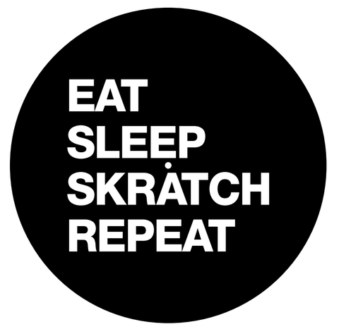 Beat Junkies Eat Sleep Scratch Repeat Slipmats