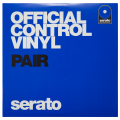 "Serato 7"" Official Control Vinyl - Blue (Pair)"