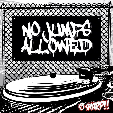 "FLAVOUR G'Z - NO JUMPS ALLOWED 7"" Vinyl"