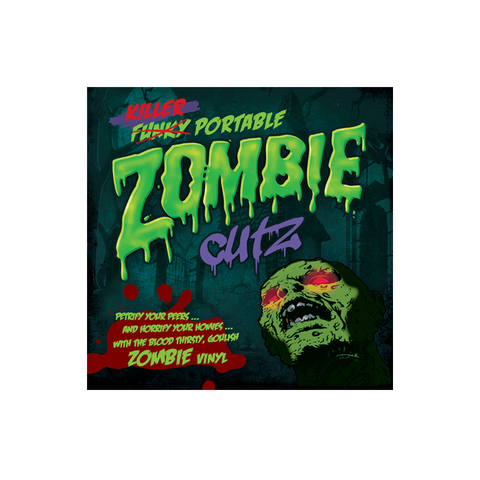 "Crab Cake Records - Killer Portable Zombie Cutz 7"" Violet Vinyl"