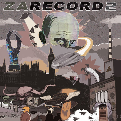 "Cut & Paste Records - Zarecord 2 - 7"" Vinyl"