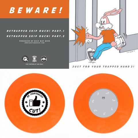 "Ugly Mac Beer - Just For Your Trapped Hand 2 - 7"" Orange Vinyl"