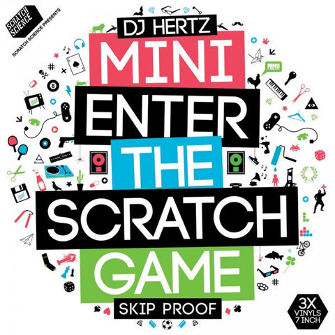 Mini LTD Colors Enter The Scratch Game - 3 x 7'' DJ Hertz