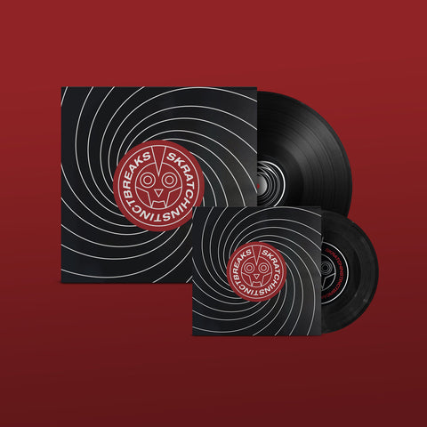 "Portable Melodies Vol.1 7"" Red Vinyl - JayDeLarge"