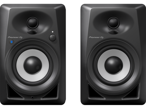 Pioneer DJ DM-40BT 4-inch Bluetooth Desktop Monitor Speakers (Black)