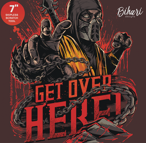 "Bihari - Get Over Here 7"" Yellow Vinyl"