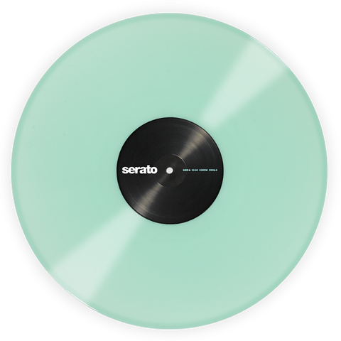 Serato Control Vinyl Glow In The Dark