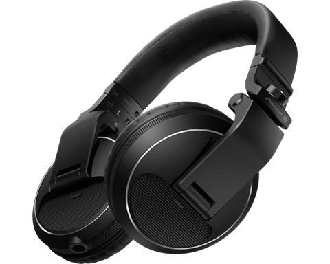 HDJ-X5-K Professional DJ Headphones - Black