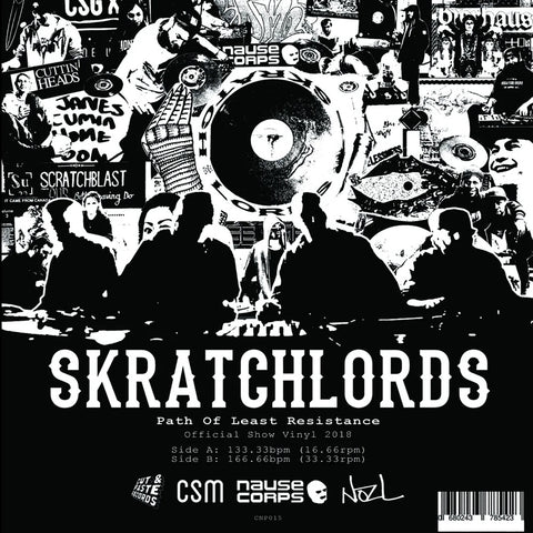 "Texas Scratch League 10"" Black Vinyl"