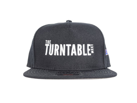 The Turntable Meet - Black Snapback