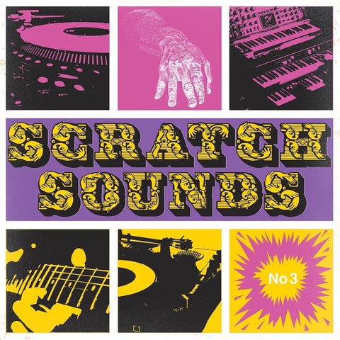 DJ Hertz - Mini Enter The Scratch Game - 3 x 7'' Black Vinyl