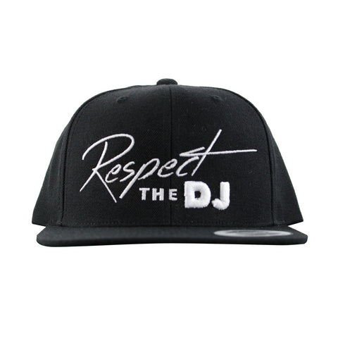 Respect The DJ Snapback - Black/White