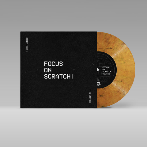 "Moody Mike - Focus On Scratch 7"" Marble Vinyl"