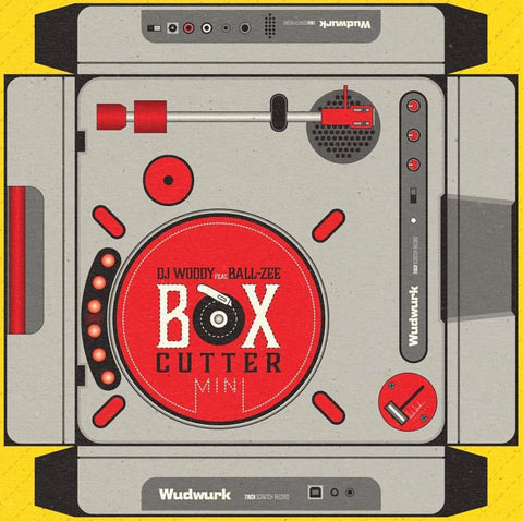 "DJ Woody feat. Ball-Zee - Box Cutter 12"" Black Vinyl"