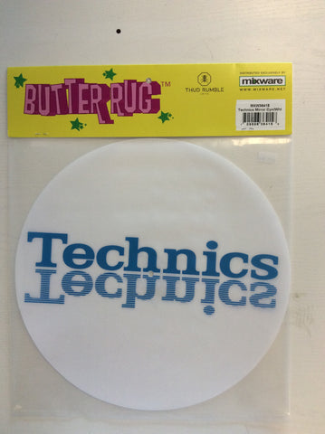 Thud Rumble Butter Rug Technics Mirror Slipmats