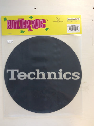 Thud Rumble Butter Rug Silver Technics Slipmats