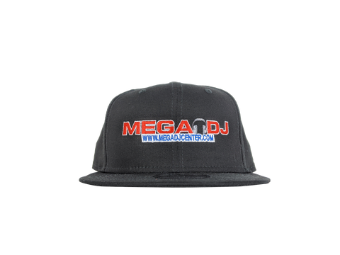 Mega DJ Center Snapback - Black