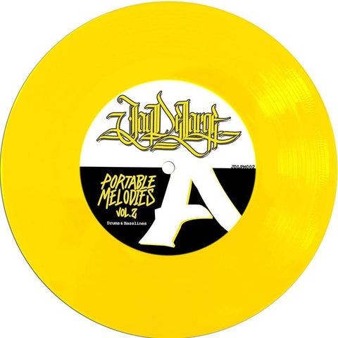 "Jay DeLarge - Portable Melodies Vol. 2 7"" Yellow Vinyl"