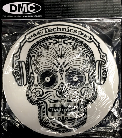 DMC Technics Skull n Phones Slipmats (Pair)