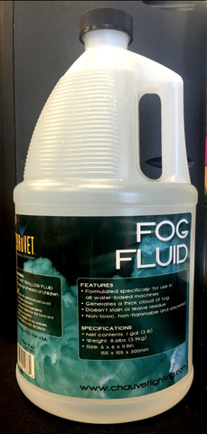 Chauvet FJU Fog Fluid - One Gallon