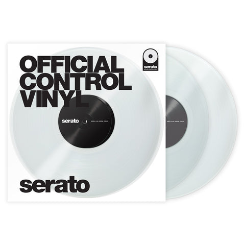 "Serato 7"" Official Control Vinyl - Clear (Pair)"