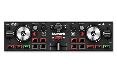 Numark DJ2GO2 TOUCH w/ Free Carrying Case