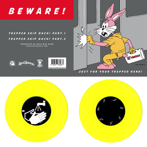 "7"" Yellow - Beat Squeeze Records - Just For Your Trapped Hand"