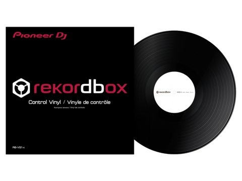 Rekordbox DJ Control Vinyl Black RB-VS1-K (1 PC)