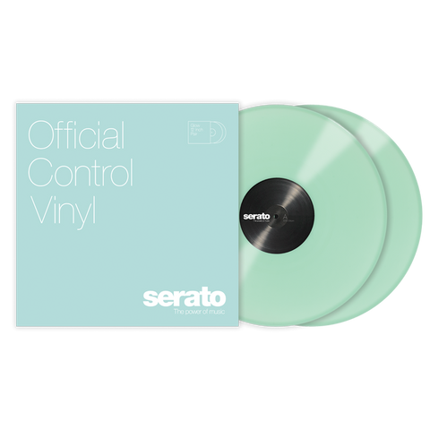 "Serato 10"" Glow In The Dark Vinyl (Pair)"