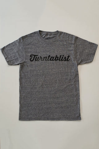 Beat Junkies Turntablist T-Shirt - Gray