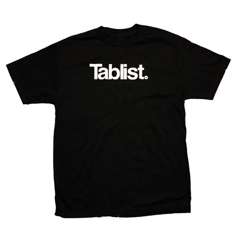 Battle Ave Tablist T-Shirt Black / White