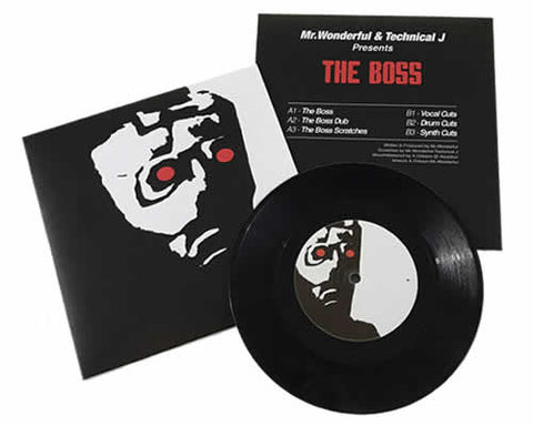 "Rhythm Rollers The Boss 7"" Vinyl"