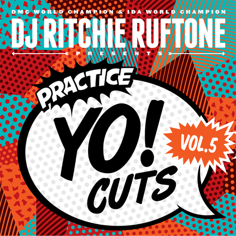 Turntable Training Wax: TTW009 - Practice Yo! Cuts 12 inch Vol. 5  (Black LP)