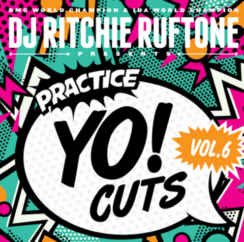 "Practice Yo! Cuts Vol. 6 7"" Black Vinyl"