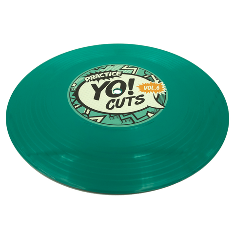 "Practice Yo! Cuts Vol. 6 7"" Teal Vinyl"