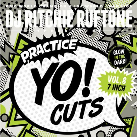 "Practice Yo! Cuts Vol. 5 7"" Black Vinyl - TTW008"