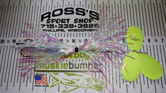Musky Frenzy Apache Triple 9 Three Bladed Bucktail