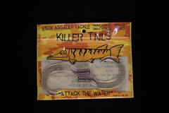 Esox Assault Killer Tails (Treble Hook)