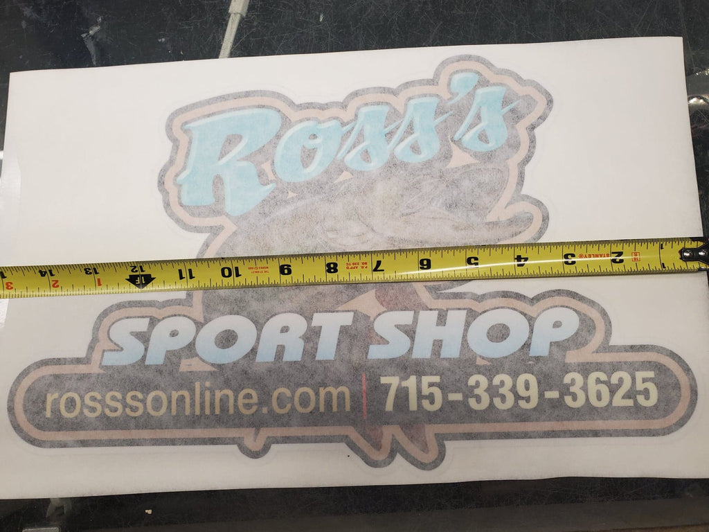 Large Ross's Decal