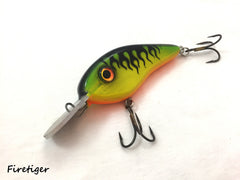 Metal Round Lip Chad Shad