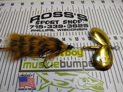Mad Squirrel Double 8 by Bou Buck Musky Baits