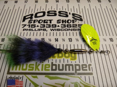 Mad Squirrel Single by Bou Buck Musky Baits