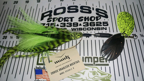 Choice Snagless Bucktail - Double 8 - Muntz Angling