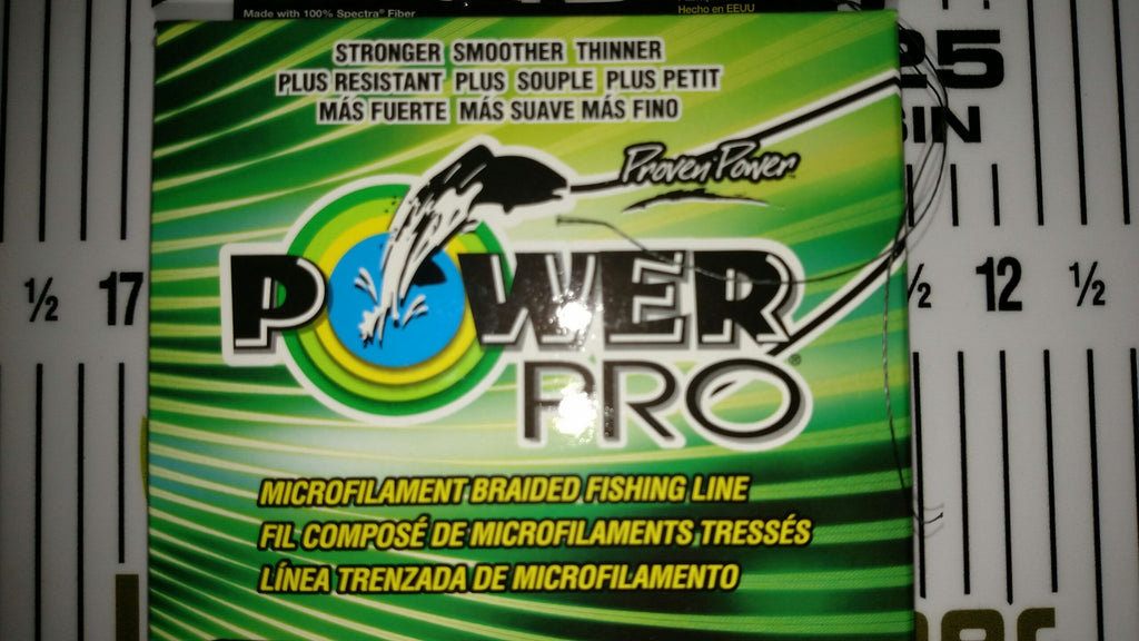 Add J-Braid or Power Pro Line To Your New Reel