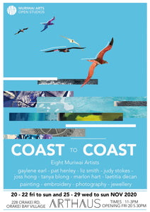 Coast to Coast Exhibition at Orakei Arthaus (20-29 November)